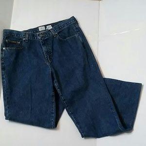 Calvin Klein high rise jeans size 14